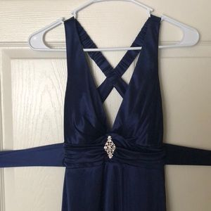 Windsor Dresses - Navy Prom Dress